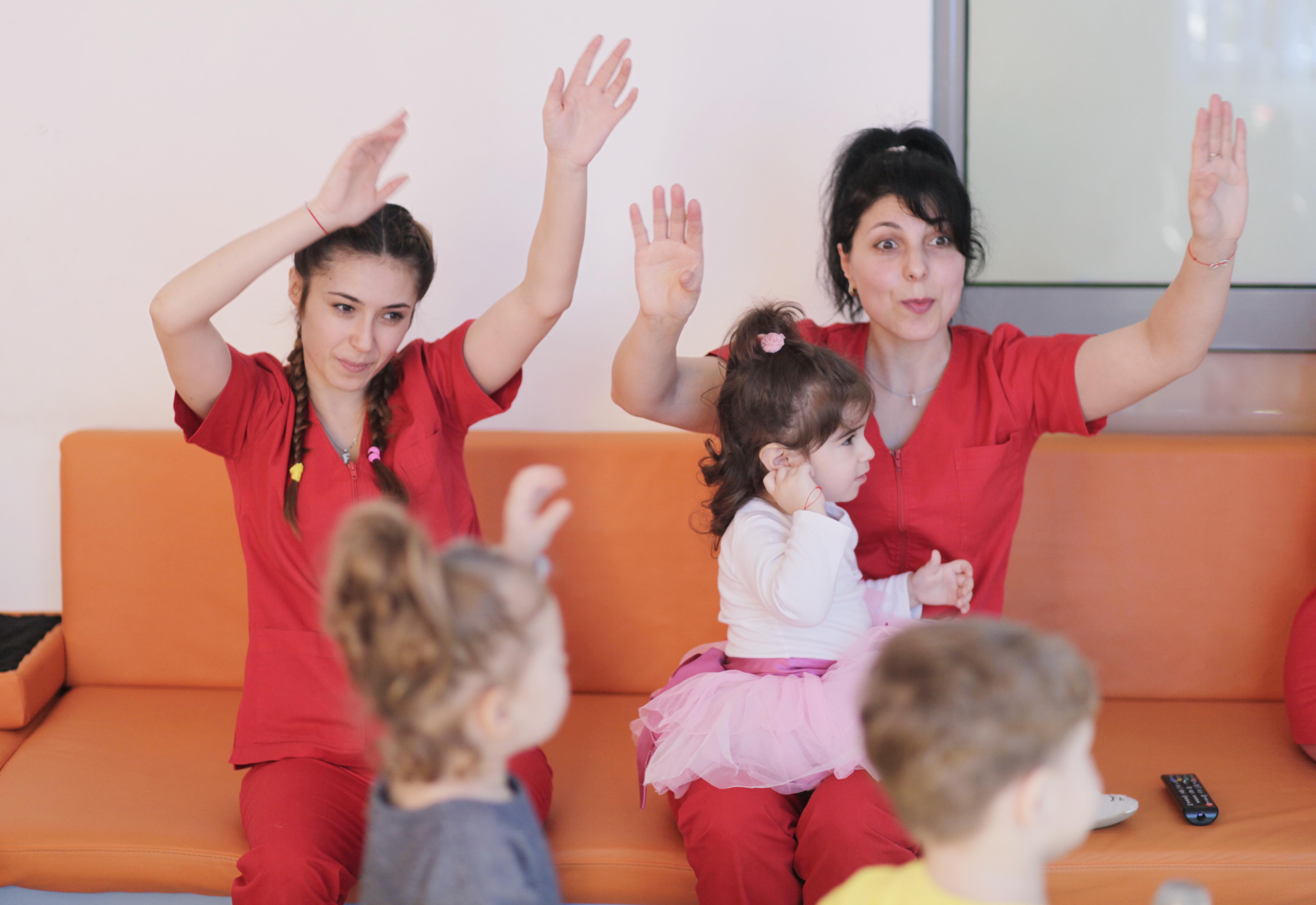 quality preschool programs support teachers