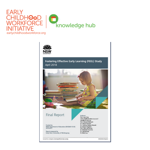 Fostering Effective Early Learning Feel Study Ec Workforce