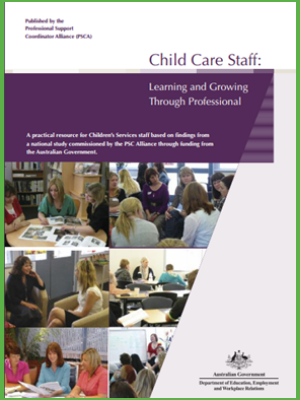 Child Care Staff - Learning and Growing Through Professional Development