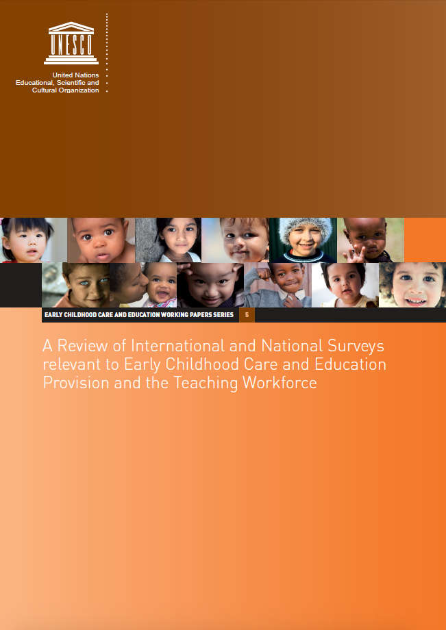 A Review of International and National Surveys relevant to Early Childhood Care and Education Provision and the Teaching Workforce