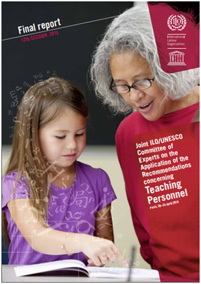 Final report: Twelfth Session: Joint ILO-UNESCO Committee of Experts on the Application of the Recommendations concerning Teaching Personnel