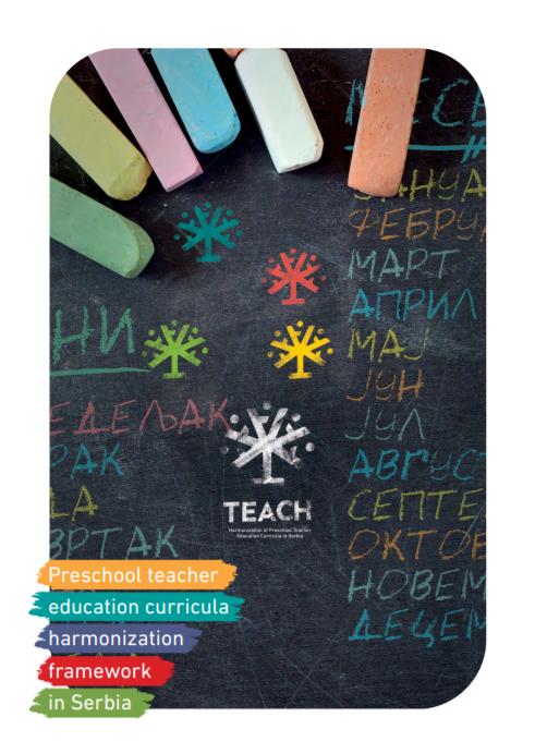 Preschool Teacher Education Curricula Harmonization Framework In