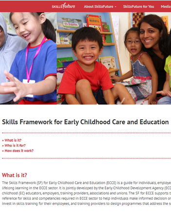 Skills Framework for Early Childhood Care and Education