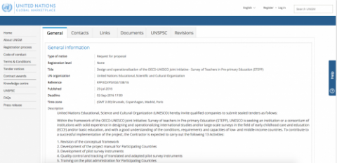 request for proposals designing and operationalizing survey tool