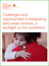 webinar integrating early childhood services