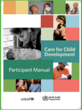 Care for Child Development Participant Manual
