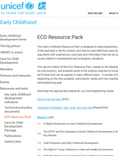 ECD Resource Back UNICEF