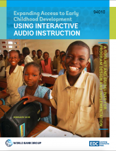 Expanding Access to Early Childhood Development Using Interactive Audio Instruction: A Toolkit and Guidelines for Program Design and Implementation