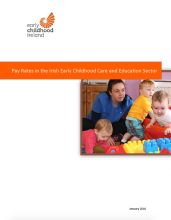 Pay Rates in the Irish Early Childhood Care and Education Sector