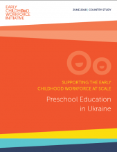 Preschool education in Ukraine